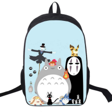 Novelty Miyazaki Hayao My Neighbor Totoro Backpack Japanese Anime School Shoulder Bag For Teenagers Satchel Rucksack Casual Bags(China)