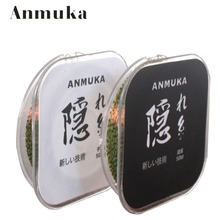 Anmula 50M Best nFishing Line Monofilament Line Invisible Fishing Line Carp Fish High NL Leaders Lead Core(China)