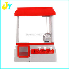 Personalized Creative Electric crane machine Arcade Cabinet Game Music Timer Control Coin Acceptor Crane Operated Games(China)