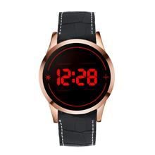 Men's Fashion LED Digital Touch Screen Day Date Silicone Wrist Watch#926