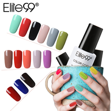 Elite99 7ml One Step Nail Gel Polish Soak Off UV Gel Varnishes Convenient 3 In 1 Gel-Lacquer No Need Top Base Coat Lacquer(China)