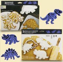 6pcs/set dinosaur cookies cutter biscuit mould set baking tools cutter tools cake decoration bakeware mold CT041(China)