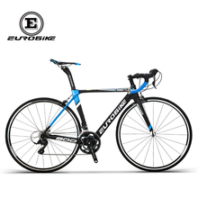 Eurobike brand 2018 new hot sales carbon fiber 700C bicycle 18 Speed Road bike(China)
