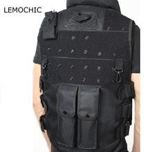LEMOCHIC rugby jersey military body armor airsoft shooting paintball jungle assault swat tactical protective bullet proof vest(China)