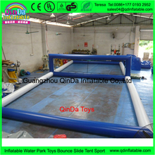 Floating Water Park Equipment Inflatable Beach Volleyball Court Funny Water Sport Inflatable Volleyball Beach Game