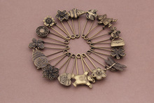 Fashion Imitation Iron big Brooch Pins Diy Jewelry Findings Jewelry Accessories wholesale