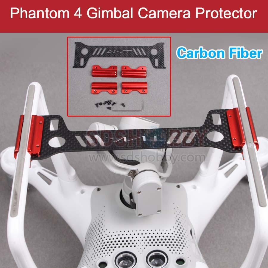 Gimbal Camera Protector Guard Bracket 3K Carbon Fiber Board Landing Gear for DJI Phantom 4 Drone<br><br>Aliexpress
