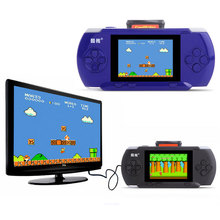 3.2 inch Children's Handheld Game Player Built-in 300 Classic FC Game wwith Game Card + AV Cable Support TV-out External handle(China)