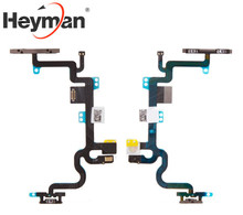 Heyman Power Button and Volume Button Flex Cable Ribbon Assembly Replac for Apple iPhone 7 (start button,components)(China)