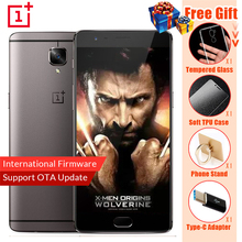"Oneplus 3t A3010 LTE 4G Mobile Phone Snapdragon 821 5.5"" Android 6.0 6G RAM 64 ROM 16MP Fingerprint ID NFC C103 Firmware Phone(China)"