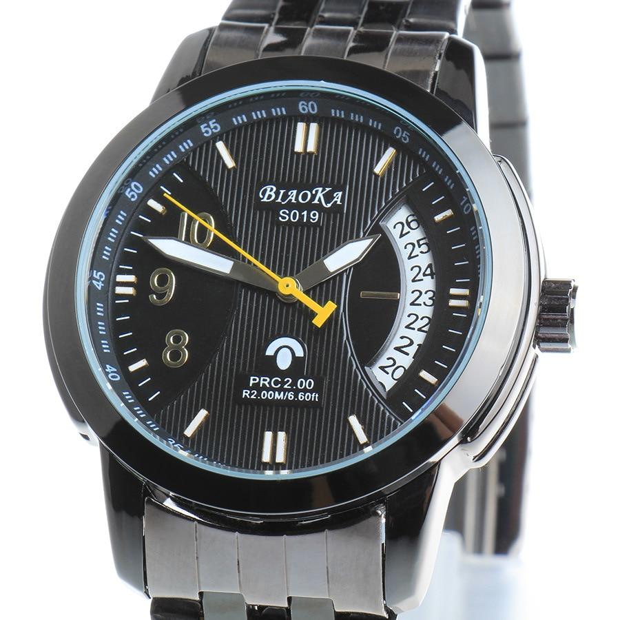 Top Brand Luxury 2017  BIAOKA Watch Men Mechanical Leather Band Date Calendar Sports Wristwatch Male Relogio Masculino<br><br>Aliexpress