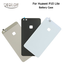 For Huawei P10 Lite Glass Battery Cover Case Original Back Door Housing Case Rear Glass Durable Protective Back Case Popular