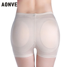 AONVE Hips Pad Butt Lift Shapewear Control Panties Butt Enhancers Push Up Panties Shaper Butt Lifter Shapewear For Buttocks(China)
