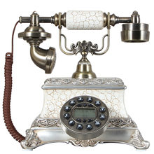 Free shipping European fashion creative antique phone vintage telephone landline phone caller display home
