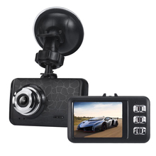 2.4 Inch TFT Car DVR 720P High Definition Wide Angle Camcorder Video Recorder DVRs with Suction Holder