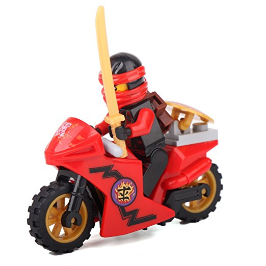 Jkela-Compatible-With-legoINGly-Ninjagoed-Mini-Blocks-Jay-Lloyd-Skylor-Zane-Pythor-Chen-Building-Blocks (3)