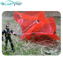 New Hand Throwing kids mini play soldiers parachute toy flying security interactive fun games Army Action Military Figures