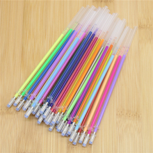 36 Pcs/Set Flash Gel Pen Refill Color Full Shinning Refill For The Child'S Drawing Office Stationery 36 Colors