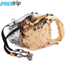 3M Luxury Retractable Dog Leash Chain Lead Harness Extending Automatic Outdoor Safety Puppy Training Leashes(China)
