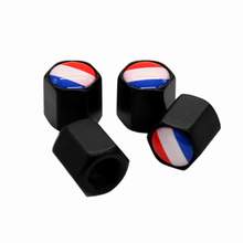 4Pcs/Set France Logo Car Badge Tyre Dust Cap Wheel Tire Valve Caps For Citron Peugeot Renault Opel