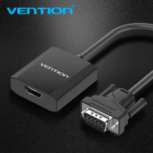 Vention VGA to HDMI Converter Cable Analog AV to Digital Converter Adapter with Audio 1080P for PC Laptop to HDTV Projector(China)