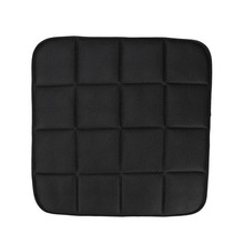 3 Colors 1 pc Breathable Mesh car seat pad Bamboo Charcoal Breathable Car Seat Cushion Pad Chair Mat 42cm*42cm(China)
