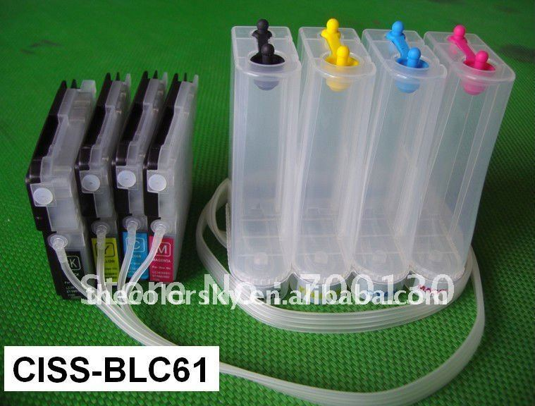 (CISS-BLC61) CISS ink tank continuous ink supply system for Brother MFC 290C 490CN 490CW 670CD 670CDW 790CW 930CDN free shipping<br>