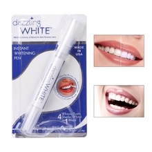 Gel de peróxido de Branqueamento Kit Dente Limpeza Dental Teeth Whitening Pen Branco(China)