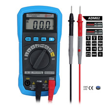 Auto Range Digital Multimeter BSIDE ADM02 Handheld Mini DMM DC AC Voltage Current Tester Multifunction With Temperature Meter