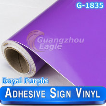 Universal Glossy Royal Purple Cutting vinyl&sign vinyl&plotter vinyl color sticker
