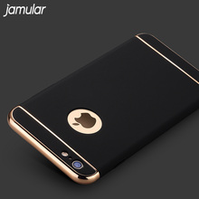 Buy JAMULAR Removable 3 1 Hard Plastic Case Iphone X 8 Plus PC Plating Matte Cover Cases Iphone 7 Plus Case Capa Fundas for $2.77 in AliExpress store