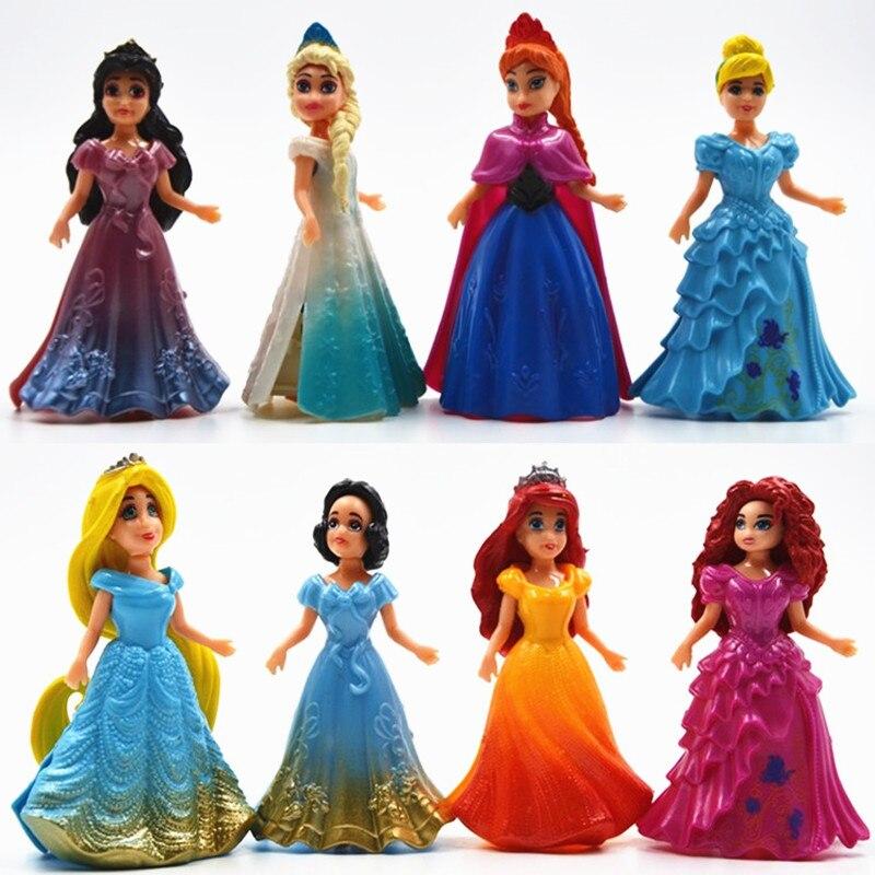 Disney Kid Toys Top Fashion Desigual Brand Kids Toys Frozen Princess Elsa Anna Action Figures Juguetes Anime Brinquedos Ty861<br><br>Aliexpress