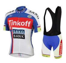 NEW Team cycling jersey cycling clothing Breathable sports wear cycling wear tinkoff Free Shipping customize Racing Bike ClotheS