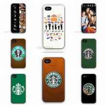 2015 Worldwide HOT Sale Friends TV Show Starbucks Case Hard Plastic Cell Phone Cover for Apple iPhone 5 5S 5G