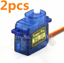 2Pcs Original TowerPro SG-50 5g Mini/Micro Digital Servo 21.5*11.7*25.1mm For RC Airplane Car Helicopters Boat Trex SG-50