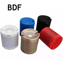 BDF Multi functional Mini Portable Bluetooth Speaker HF-Q3 Subwoofer Stereo Wireless 3D Surround with Mic Dual Active Speakers(China)