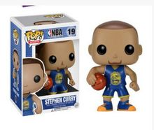 2 colo 2016 Funko POP Vinyl Figure Sports Basketball NBA Famous Star Stephen Curry PVC figure with color box