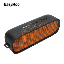 EasyAcc Portable Bluetooth 4.1 Speaker with Microfon and AUX Function Micro SD Card USB Sticks Dual driver for Samsung Xioami