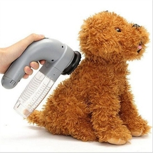 Electric Pet Dog Cat Vac Hair Remover Puppy Vacuum Cleaner Fur Shedding Grooming Tool Dog Trimmer Brush Comb Pet