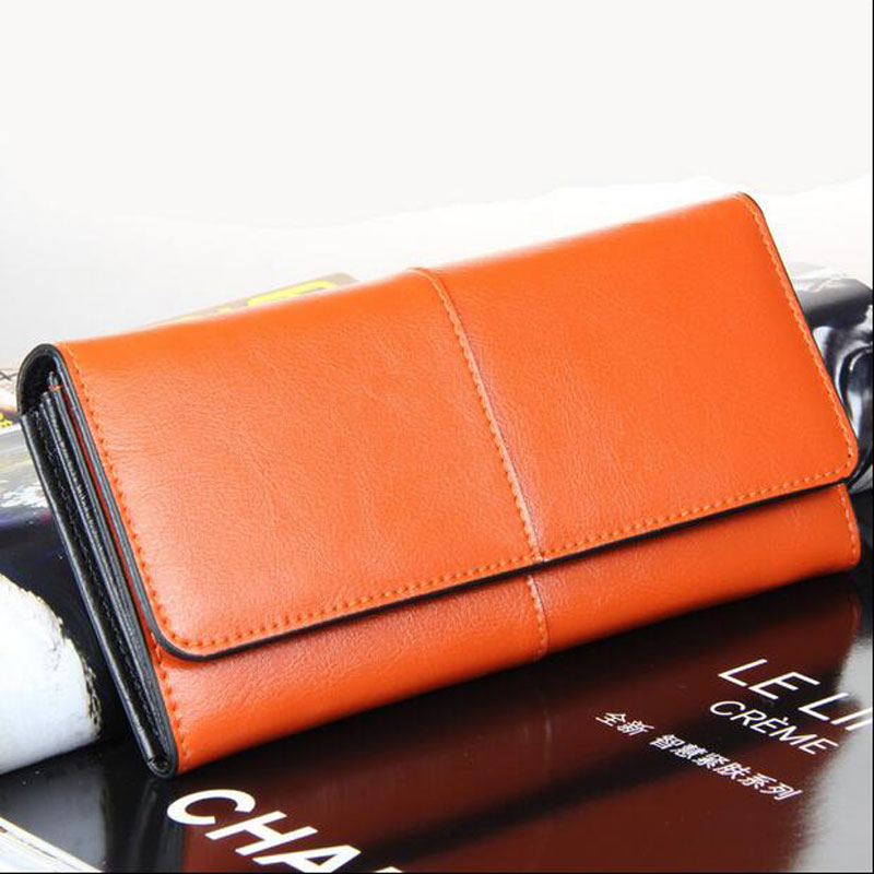 Brand Fashion Long Wallet for Ladies Day Clutch Purse 2017 European Style Women Wallet Genuine Leather Wallet On Sale Z735<br><br>Aliexpress