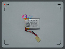 3.7V lithium polymer battery 042030 230mAh lithium battery manufacturers