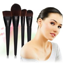 Hot Sale Makeup Brushes Set Cosmetic Foundation Contour Face Powder Nude Blush Brush #T4QHO1#