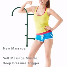 Massager Ergonomic Design Body Self Back Hook Massage Stick Muscle Deep Pressure Original Point Body Care Hot Selling(China)