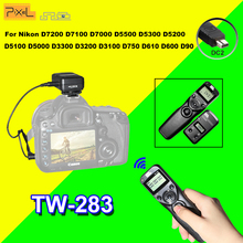Buy PIXEL TW283 TW-283 DC2 Wireless Timer Remote Control Nikon D7100 D3300 D5100 D7000 D3200 D90 D7200 D5000 Shutter Release for $24.89 in AliExpress store