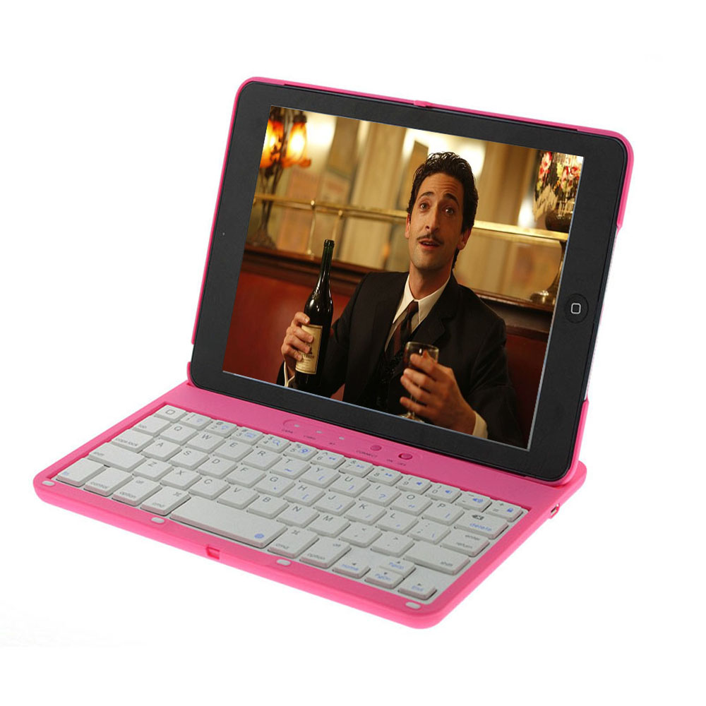 Free Shipping Portable Slim Swivel Flip Stand Wireless Bluetooth Keyboard Smart Covers For Apple ipad mini 1/2 Retina ipad 2 3 4<br><br>Aliexpress