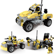 88pcs Armed Vehicle Building Blocks Toys for Children Compatible Military 3 in 1 Chariot Jeep Kids Bricks Boys Toys K2668-29058