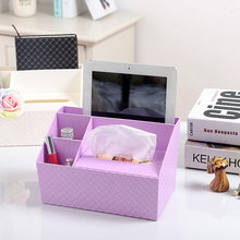 Creative multi-functional desktop storage box of toilet tissue box European car bedroom home receiving box(China)