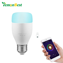 WiFi Smart Bulb 6W E27 RGB White LED Light Support Remote Control / Music Rhythm / Adjust Brightness for Android iOS Smartphone