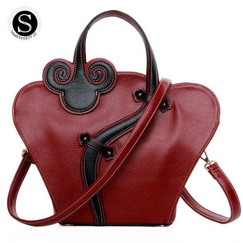 Senkey Style Women Messenger Bags Handbags Women Famous Brands 2017 Ethnic Style Flower Luxury Handbags Women Bags Designer<br>