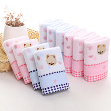 luxury towel anime towel Cotton towel suitable for baby 25*50cm Face silk ribbon Towel Soft Cotton Quick Dry Facecloth(China)